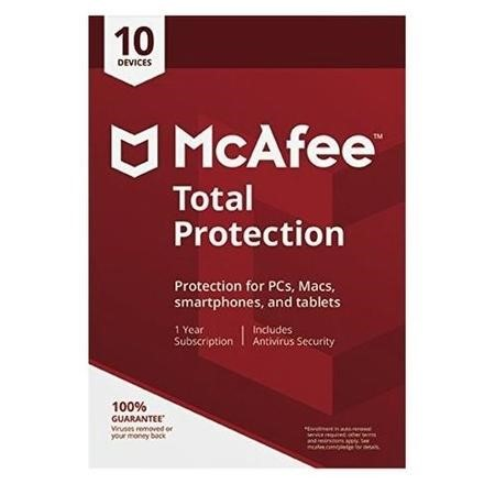 McAfee 2018 Total Protection 10 Devices