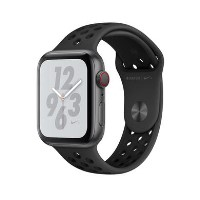 Apple Watch Nike+ Series 4 GPS + Cellular 44mm Space Grey Aluminium Case with Anthracite/Black Nike