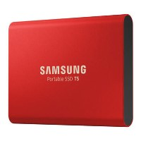 Samsung 500GB Portable SSD T5 USB3.1 External SSD in Red