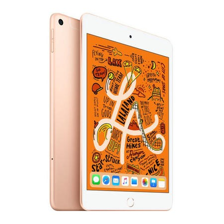 MUX72B/A Apple iPad Mini 2018 Wi-Fi + Cellular 64GB 7.9 Inch Tablet - Gold