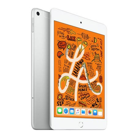 MUXD2B/A Apple iPad Mini 2018 Wi-Fi + Cellular 256GB  7.9 Inch Tablet - Silver