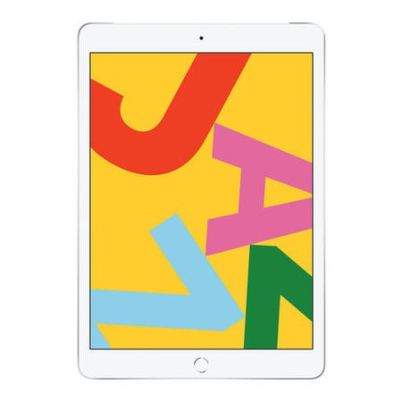 Apple iPad WiFi + Cellular 128GB 10.2 Inch 2019 Tablet - Silver