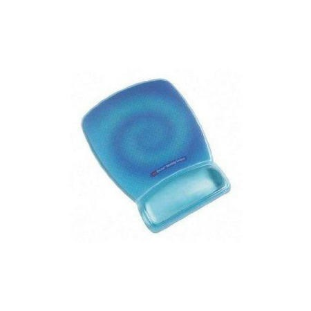 3M Precise Mousing Surface with Clear Gel Wrist Rest  Blue