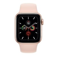 Apple Watch Series 5 GPS + Cellular 40mm Gold Aluminium Case with Pink Sand Sport Band