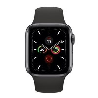 Apple Watch Series 5 GPS + Cellular 40mm Space Grey Aluminium Case with Black Sport Band