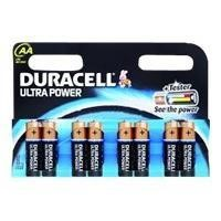 Duracell MX1500B8 AA Ultra Power Battery 8 Pack
