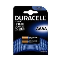 Duracell Ultra Power AAAA Battery 1 x 2 Pack