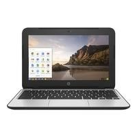 HP Chromebook 11 G4 Intel Celeron N2840 4GB 16GB Google Chrome OS 11.6 Inch Chromebook Laptop - Black / Silver