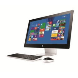 "Hewlett Packard HP Pavilion 27-N020NA Intel Pentium G3260T 8GB 1TB 27"" Windows 8.1 All In One in Blizzard White"