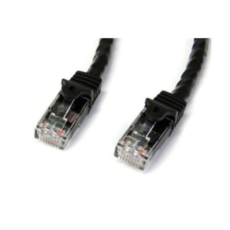 StarTech.com 5m Black Gigabit Snagless RJ45 UTP Cat6 Patch Cable - 5 m Patch Cord