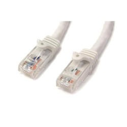 StarTech.com 5m White Gigabit Snagless RJ45 UTP Cat6 Patch Cable - 5 m Patch Cord