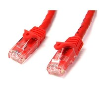 StarTech.com 75 ft Red Gigabit Snagless RJ45 UTP Cat6 Patch Cable - 75ft Patch Cord