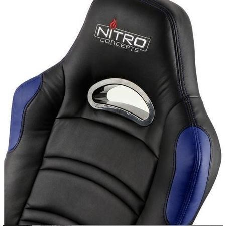 Nitro Concepts C80 Comfort Series Gaming Chair - Black/Blue