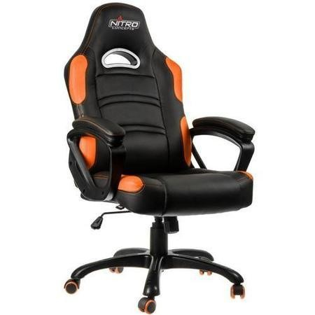 Nitro Concepts C80 Comfort Series Gaming Chair - Black/Orange