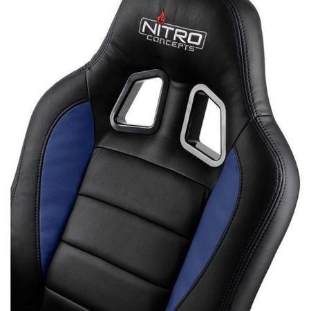 Nitro Concepts C80 Motion Series Gaming Chair - Black/Blue