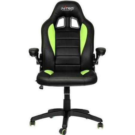 Nitro Concepts C80 Motion Series Gaming Chair - Black/Green