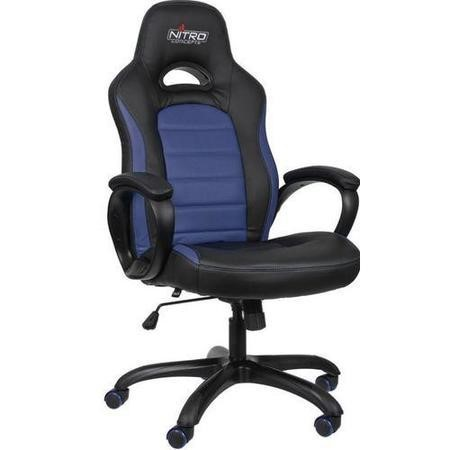 Nitro Concepts C80 Pure Series Gaming Chair - Black/Blue