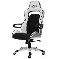 Nitro Concepts E220 Evo Series Gaming Chair - White/Black