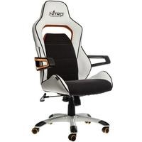 Nitro Concepts E220 Evo Series Gaming Chair - White/Orange