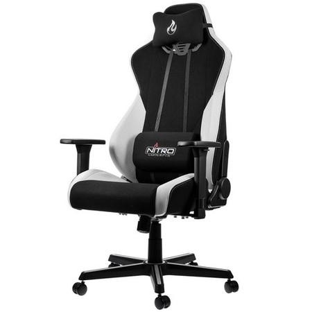 Nitro Concepts S300 Fabric Gaming Chair in Radiant White