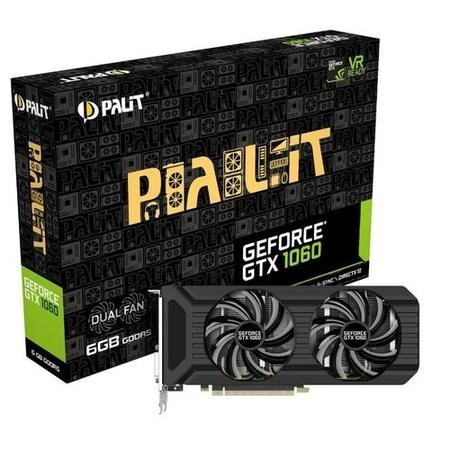Palit Dual GeForce GTX 1060 6GB GDDR5 Graphics Card