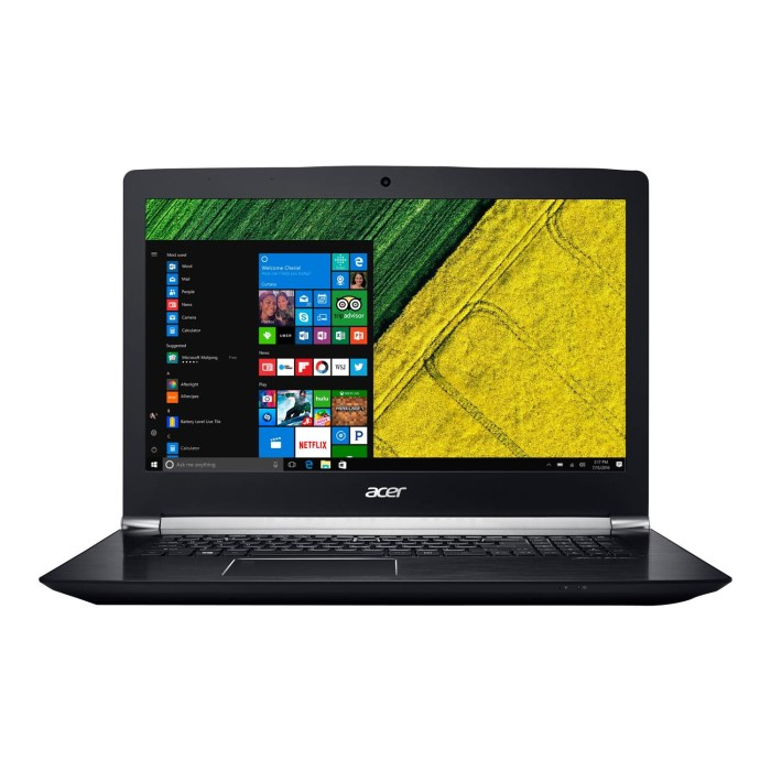 Acer V-Nitro VN7-793G Core i7-7700HQ 16GB 1TB + 256GB SSD GeForce GTX 1060  17 3 Inch Windows 10 Gaming Laptop
