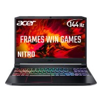 Acer Nitro 5 Core i7-10750H  8GB 512GB SSD 15.6 Inch Full HD 144Hz GeForce GTX 1660Ti  Windows 10 Gaming Laptop
