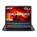 NH.Q7PEK.002 Acer Nitro 5 Core i5-10750H 8GB 512GB SSD 15.6 Inch Full HD 144Hz GeForce GTX 1660Ti  Windows 10 Gaming Laptop
