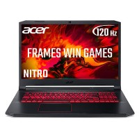 Acer Nitro 5 Core i5-10300H 8GB 512GB SSD GeForce GTX 1650Ti 17.3 Inch Full HD 120Hz Windows 10 Gaming Laptop