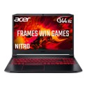 NH.Q9GEK.002 Acer Nitro 5 Ryzen 5-4600H 8GB 512GB SSD GeForce GTX 1650 15.6 Inch  Full HD 144Hz Windows 10 Gaming Laptop