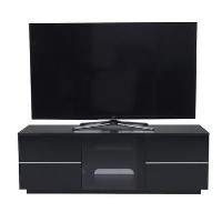 "UK-CF New London TV Cabinet for up to 65"" TVs - Black"
