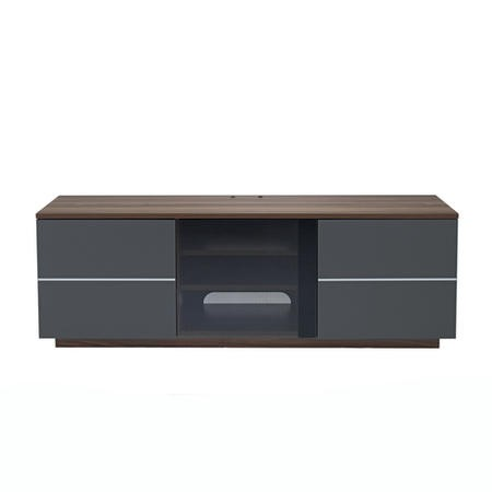 UK-CF New London Walnut/Grey TV Unit
