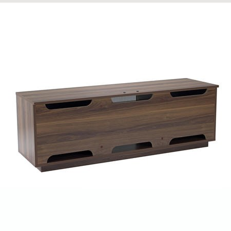 "UK-CF New London Walnut/Grey TV Cabinet for up to 65"" TVs"