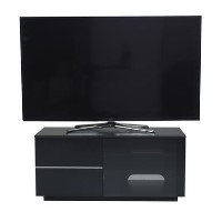 "UK-CF New Paris TV Cabinet for up to 55"" TVs - Black"