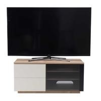 "UK-CF New Paris Oak/Cream TV Cabinet for up to 55"" TVs"
