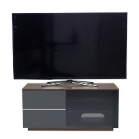 "UK-CF New Paris TV Cabinet for up to 55"" TVs - Walnut/Grey"