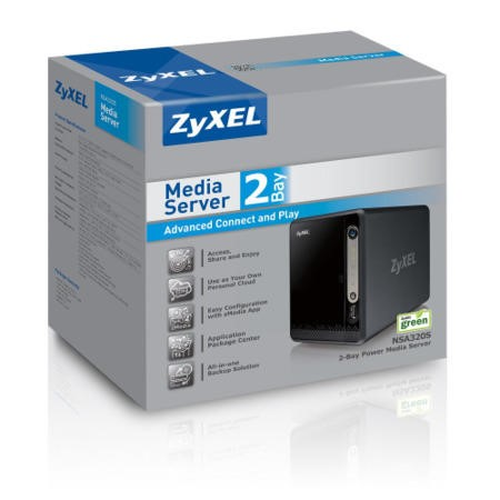 Zyxel 2-Bay Digital Media Server