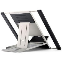 Newstar NSLS100 Portable Laptop and Tablet Desk Stand in Silver