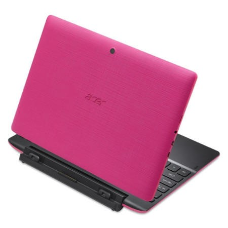 Acer SWITCH 10 E Convertible 2 in 1 Tablet in Pink