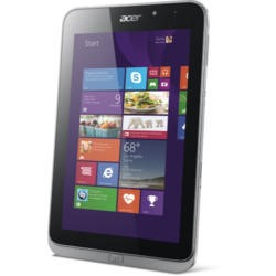 Refurbished Grade A1 Acer Iconia W4-820 Intel Quad Core 2GB 32GB 8 inch Windows 8.1 Tablet in Silver