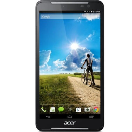 "ACER Talk S A1-724 7"" Qualcomm Snapdragon 410 Quad Core 1.2GHz 1GB 16GB4G LTE + Phone2 MP Webcam + 5MP Camera Black / Blue Steel Android 4.4 KitKat"