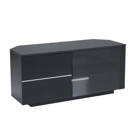 "UK-CF New Tokyo Black TV Cabinet for up to 65"" TVs"