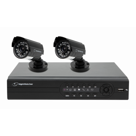Nightwatcher Nw4d1 520 2b 4 Channel 500gb Plug And Play