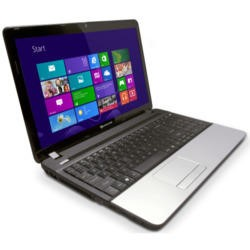 GRADE A1 - As new but box opened - Refurbished Grade A1 Packard Bell TE11 4GB 500GB Windows 8 Laptop in Black & Silver