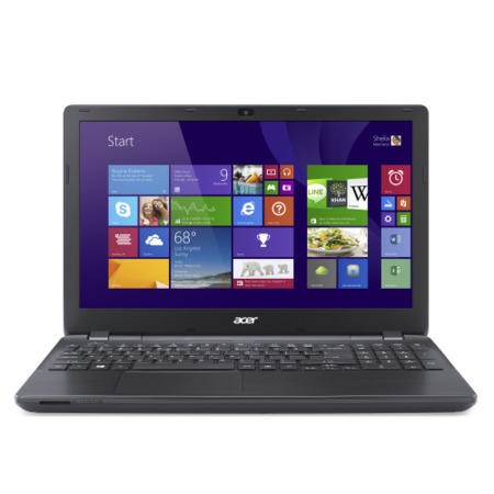 Acer TravelMate Extensa EX2510 15.5 Inch Core i5-4210U 4GB 500GB DVDSM Windows 8.1 Laptop in Black