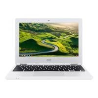 "Refurbished Acer CB3-131 11.6"" Intel Celeron N2840 2GB 16GB eMMC Chrome OS Chromebook in White"