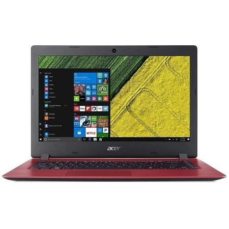 Acer Aspire Intel Celeron N3350 4GB 64GB 14 Inch Windows 10 Laptop in Red