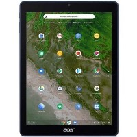 "Acer ChromebookTab 10 D651N-K25M 32 GB IPS 9.7"" Chrome OS Tablet in Black/Indigo Blue"