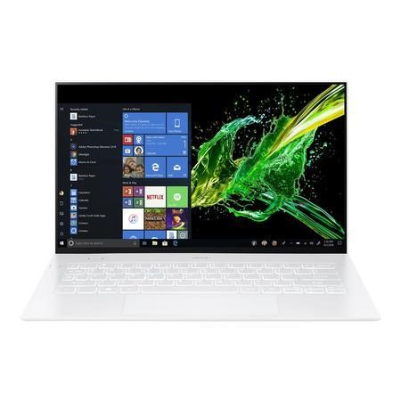 Acer Swift 7 Core i7-8500Y 16GB 512GB SSD 14 Inch FHD Touchscreen Windows 10 Laptop - White