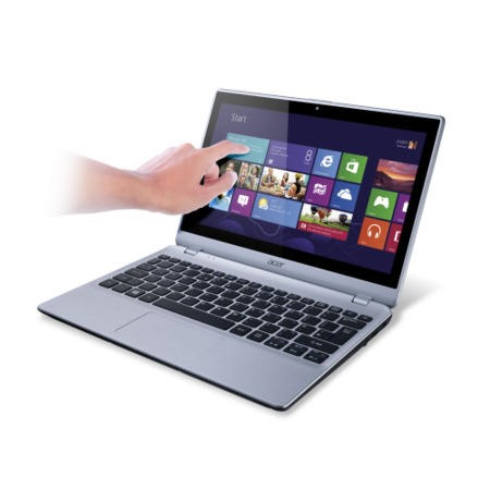 GRADE A1 - As new but box opened - Refurbished Grade A1 Acer Aspire V5-122P 4GB 500GB 11.6 inch Windows 8 Touchscreen Laptop in Silver